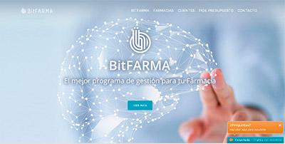 P�gina web BitFARMA