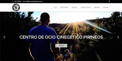 P�gina web COC Pirineos